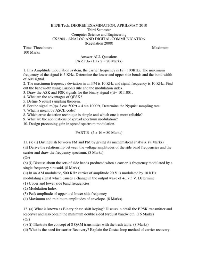 Adc 1 Frequency Modulation 8 Qam Transmitter Block Diagram