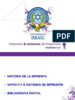 Imprenta & Sistemas de Impresión
