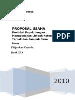 Proposal Usaha Pupuk UAS