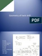 Geometry of Twist Drill
