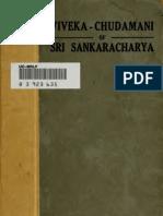 VivekaChudamani of Sri Shankaracharya[1]