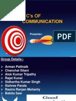 7 c of Communication