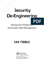 Security DeEngineering