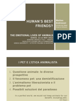 Human's best friends