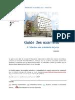 Guide Des Examens Pour Les Jurys 2012-1