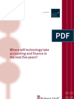 CFO/CIO white paper - Where will technology take accounting and finance in the next five years?