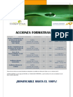 ACCIONES FORMATIVAS 2012