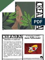 CREATURA+mayo+2012