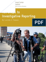 10 Steps Investigative Reporting