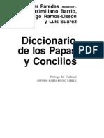 Paredes, Javier - Diccionario de Papas y Concilios 01 (Edad Antigua y Media)