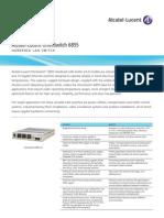 Alcatel-Lucent OmniSwitch 6855 - HARDENED LAN SWITCH - Datasheet