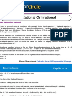 Is 0 Rational or Irrational