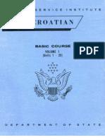 FSI - Serbo-Croatian Basic Course - Volume 1 - Student Text