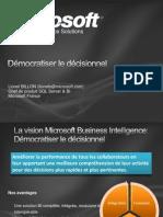 Démocratiser la BI_CIO_Microsoft