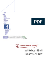 White Board Selling Best Practices Guide