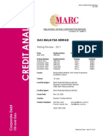 Gas Malaysia Bhd - CAR Review 2011