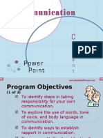 Communication Power Point 2565