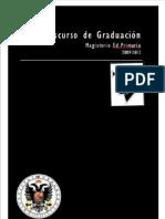 DISCURSO DE LA GRADUACIÓN