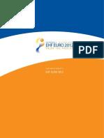 Womens EHF EURO 2012 Logo Treatment