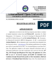 Academic Appintments (1)