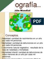 Diapositivas de la Población Mundial