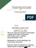 Mob. Articular e Osteopatia
