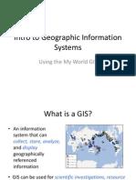 GIS Intro