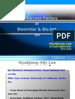 Key Success Factors of Biosimilars (eng)-중앙대