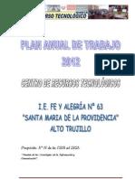Plan Anual Crt Fe y Alegria 2012