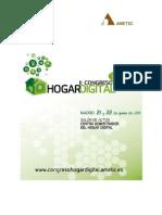 Libro 2º Congreso Hogar Digital