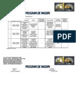 Program de Masuri 2012