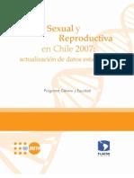 Salud Sexual y Reproductiva Chile 2007