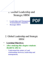 2. Global Leadership and Strategic HRM