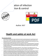 Key Legislation of Infection Prevention and Control