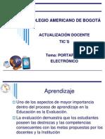 Presentacion Portafolio electronico
