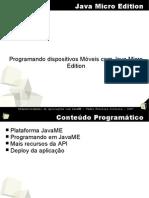 Slides de Aula Java Micro Edition J2ME