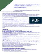 Fast Track CFP Exam 5(Final Exam) Preparation Training Workshop