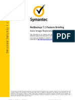 Feature Briefing - NetBackup 7 1 - Auto Image Replication