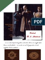 Nutuk 1927 baskısının ilk-son sayfaları ve asıl yazma sayfalardan ikisi.