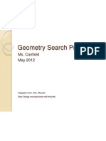 Geometry Search Project