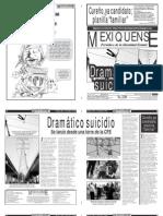 Versión impresa del periódico El mexiquense 14 mayo 2012