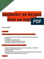 Implanter un keygen