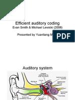 04 Efficient Auditory Coding