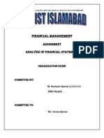 Exide Financial Analysis