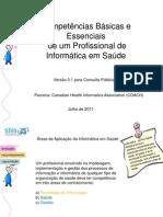 SBIS - Competências de Um Profissional de TI em Saúde