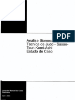 Análise Biomecânica da Técnica de Judo - Sasae Tsuri-Komi-Ashi Estudo de Caso