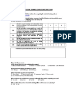 Industrial Training Completion Report Form