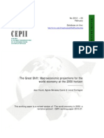 6. Projections for the World Economy at the 2050 Horizon