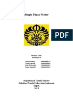 Paper Single Phase Motor