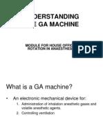 GA Machine for HO
